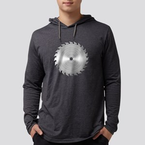 Sawblade Mens Hooded Shirt