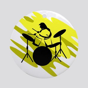 DRUMS (3) Ornament (Round)