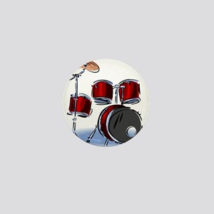 DRUM SET (5) Mini Button