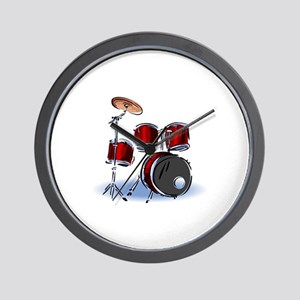 DRUM SET (5) Wall Clock