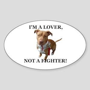 Rocco Lover Oval Sticker