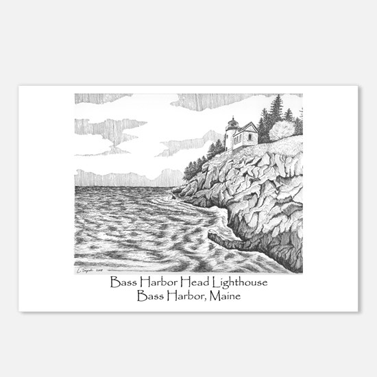 Bass Harbor Head Lighthouse Postcards (Package of