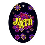 Mathadelic Lipstick Oval Ornament