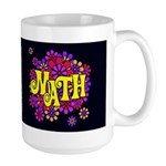 Mathadelic Lipstick Dark Large Mug