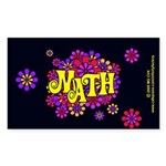 Mathadelic Lipstick Rectangle Sticker 10 pk)