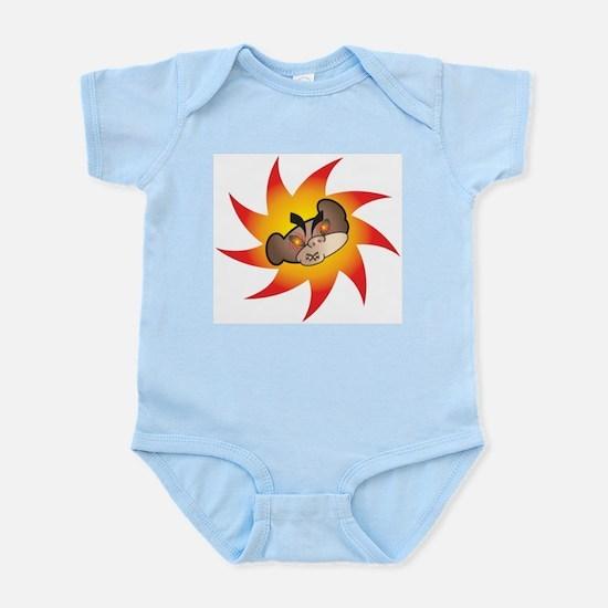 Wicked Monkey Head Infant Creeper