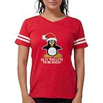 Cute Christmas Penguin Is it Womens Football Shirt