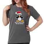Cute Christmas Pengui Womens Comfort Colors® Shirt