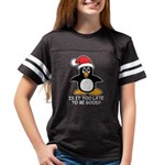 Cute Christmas Penguin Is it Youth Football Shirt