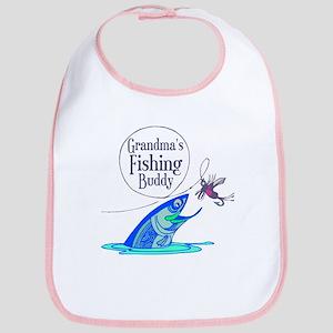 Grandma's Fishing Buddy Bib