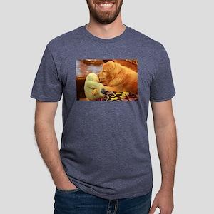 popular Nala retriever golden dog with aqu T-Shirt