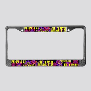 Mathadelic Lipstick License Plate Frame