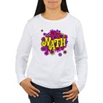 Mathadelic Lipstick Women's Long Sleeve T-Shirt