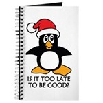 Cute Christmas Penguin Is it too late to b Journal