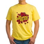 Mathadelic Lipstick Yellow T-Shirt