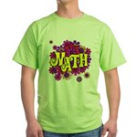Mathadelic Lipstick Green T-Shirt