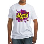 Mathadelic Lipstick Fitted T-Shirt
