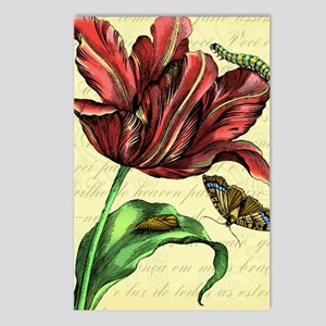 Tulip Print Postcards (Package of 8)