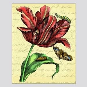 Tulip Print Small Poster