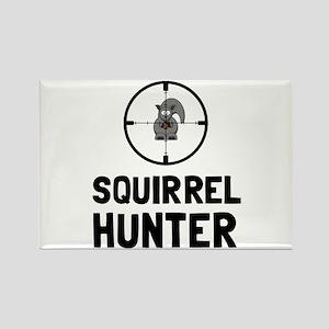 Squirrel Hunter Magnets