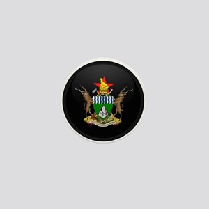 Coat of Arms of Zimbabwe Mini Button