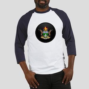 Coat of Arms of Zimbabwe Baseball Jersey