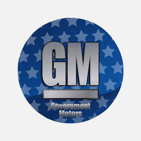 "Government Motors 3.5"" Button"