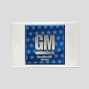 Government Motors Rectangle Magnet