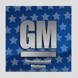 Government Motors Tile Coaster