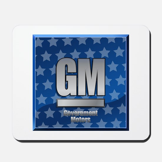 Government Motors Mousepad