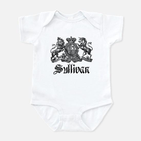 Sullivan Vintage Family Crest Infant Bodysuit