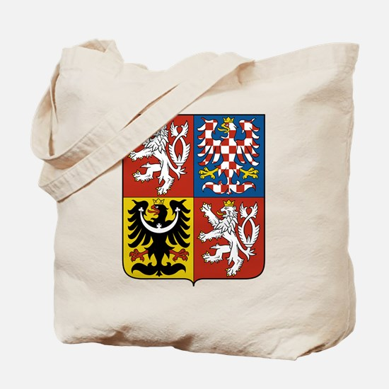 Czech Coat of Arms Tote Bag