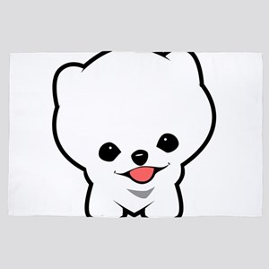 Boo the puppy 4' x 6' Rug