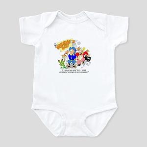 ... mornings or evenings ... Infant Bodysuit