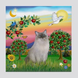 Bright Country / Ragdoll Tile Coaster