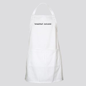 breakfast included BBQ Apron