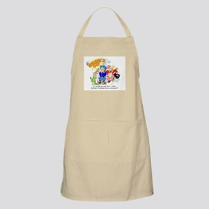 ... mornings or evenings ... BBQ Apron