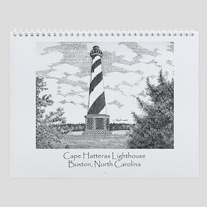 Cape Hatteras Lighthouse Wall Calendar