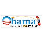 Pee Party Bumper Sticker (10 pk)