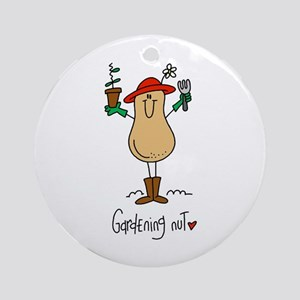Gardening Nut Ornament (Round)