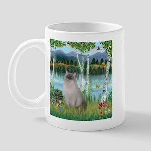 Birches / Ragdoll Mug