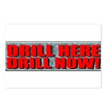 Drill Here Postcards (Package of 8)