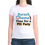Pee Party Jr. Ringer T-Shirt