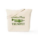 Green Gotta Play Trumpet Music Bag