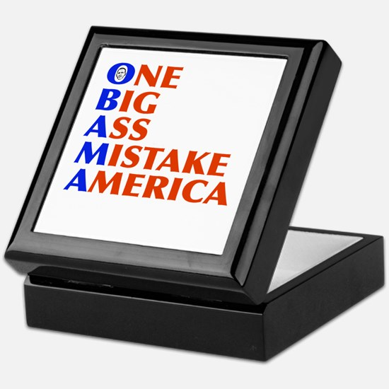 Obama: One Big Ass Mistake America Keepsake Box