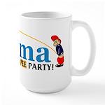Pee Party Large Mug