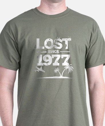 Lost with Sawyer since 1977 T-Shirt