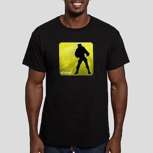 iHowl Men's Fitted T-Shirt (dark)