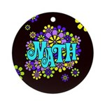 Mathadelic Surf Ornament (Round)