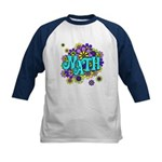 Mathadelic Surf Kids Baseball Jersey